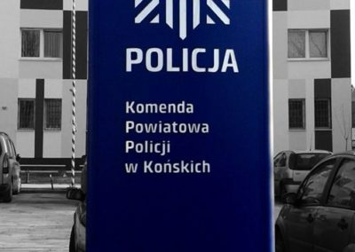pylon_policja